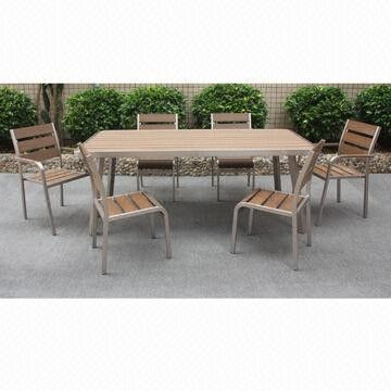 New Design Dining Set, Easy to Assemble, Suitable for Indoor and Outdoor Use from China