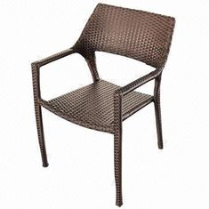Rattan dining chair/UV resistance-outdoor/garden/restaurant/hotel furniture from China